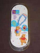 WINNIE THE POOH 5 FUNCTION DIGITAL WATCH UNOPENED SEALED NOS NEW
