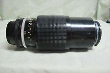Nikon Zoom Nikkor Auto 1:4.5 80-200mm SLR Camera Lens
