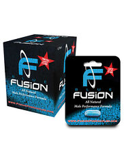 Blue Fusion BlueFusion All Natural Male Formula- 1 Capsule Blister Display of 12