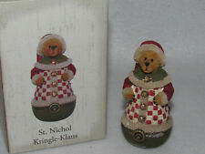 St. Nichol Kringle Klaus Boyds Treasure Box Collection - 4018013 - Mib