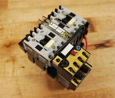 Allen Bradley 104-A12ND3 Series B 12AMP Reversing Contactor with 193-BSA90/B