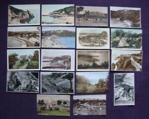 18 different Torquay Devon Postcards