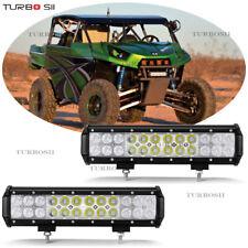 2x 12Inch 72W LED Light Bar SPOT& FLOOD Bulbs Off-road SUV 4WD Truck ATV BOAT