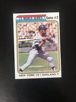 """*** 1974 TOPPS #473 WILLIE MAYS """"WORLD SERIES GAME 2""""— SHARP💥***"""