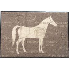 Waschbare Fußmatte - Cavallo - Pferd 50x75 cm Wash+Dry Fußabstreifer Türmatte