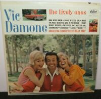 VIC DAMONE THE LIVELY ONES (NM) T-1748 LP VINYL RECORD