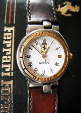 ORIG. FERRARI CARTIER ARMBANDUHR Chronometer FORMULAR MONTE CARLO WEIß GOLD