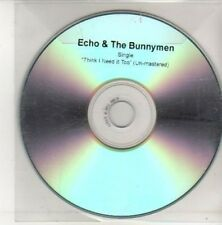 (AK881) Echo & The Bunnymen, Think I Need it Too- DJ CD