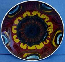 """POOLE POTTERY DELPHIS 8"""" DIAMETER SHAPE 3 PLATE OR DISH ANGELA WYBURGH"""