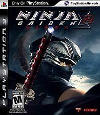 Ninja Gaiden 2 Sigma Playstation 3 PS3 Black Label Brand New & Sealed