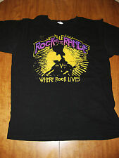ROCK ON THE RANGE tee 2011 med T shirt KORN Danzig STAIND Avenged Sevenfold