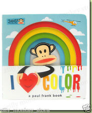 Julius: I Love Color: A Paul Frank Book Children Read