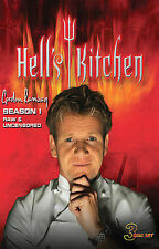 Hells Kitchen - Season 1 (DVD, 2008, 3-Disc Set, Raw and Uncensored)