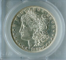 "$1 Top 100 Morgan silver dollar 1880 VAM 7 ""8/7"" Crossbar"