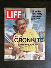 Life Magazine March 26, 1971 - Walter Cronkite - U.S. Army Spies on Citizens C1