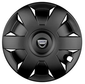15'' Wheel trims for DACIA SANDERO - black 4x15''