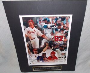 Mark McGwire & Sammy Sosa Limited Edition 601/62000 1998 Homerun Record Breakers