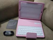"Bluetooth Keyboard Case for Apple iPad Air/Air2 iPad Pro 9.7"" Pink"