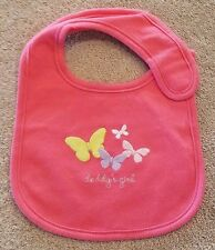 ADORABLE! CARTER'S PINK DADDY'S GIRL BABY BIB