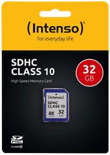 Intenso SDHC Karte 32GB Speicherkarte Class 10
