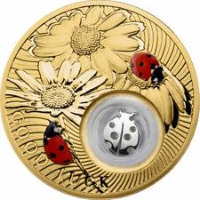 Niue 2013 2$ Ladybird Lucky Coins III Proof Silver Coin