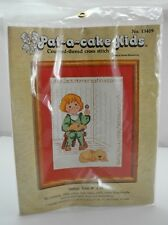 Pat-a-cake-Kids Counted Cross Stitch Kit - Little Jack Horner Nursery Rhyme