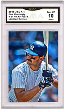 Don Mattingly 1 of 49 Art Card Gem MT 10 Artist Autograph New York Yankees