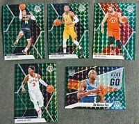 2020 Mosaic Green Mosaic Prizm 5-Card Lot incl Oladipo + Fox Give and Go
