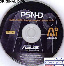 ASUS GENUINE VINTAGE ORIGINAL DISK FOR P5N-D Motherboard Drivers Disk M1279