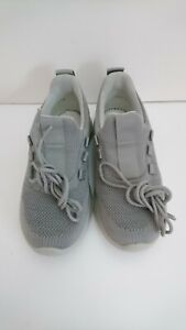 Women's White & Grey Hotter Lace Up Trainers MOVE - STD Size 3 UK 5 US 36 EU