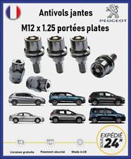 Ecrous antivol de roues Peugeot