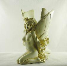 Nude Fairy Art Nouveau Faerie Deco Naked Erotic Fairies Figurine Statue Vase N/R