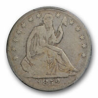 1852 O 50C Seated Liberty Half Dollar PCGS VG 8 Very Good Key Date Tough Coin...