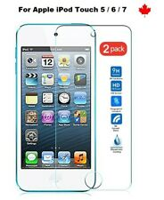 For Apple iPod Touch 5 6 7 - Tempered Glass Hard Screen Protector Cover (2 Pack)