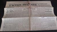 Diario Nacionalista ACCIÓN Francesa 5 Septembre 1934 N º 248 ABE