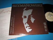 Hesse-Bukowska / Szymanowski: Twenty Mazurkas - LP