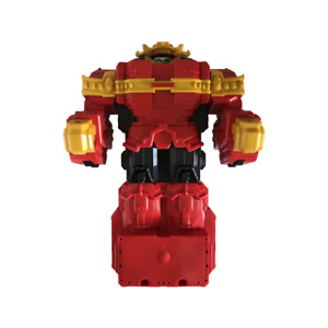 Power Rangers Ninja Steel Lion Fire Fortress Megazord Red Zord Spare Or Repairs