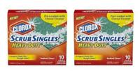 Clorox Scrub Singles Heavy Duty Pads, 10 ct *Pack of 2*