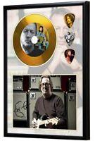 Eric Clapton Gold Look CD, Autograph & Plectrum Display