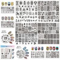 BORN PRETTY Nail Stamping Image Plate Nail Art Template  Stencils DIY