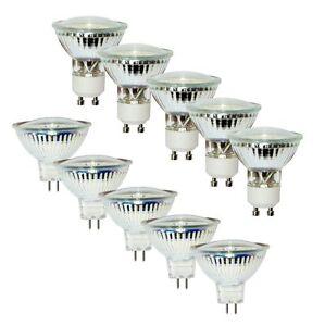 4er/10er Pack LED SPOT STRAHLER 1,5W/ 3W/ 5W GU10 MR16 GU5,3 warmweiß