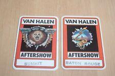 Van Halen - 1982 Backstage Pass Collection # 7