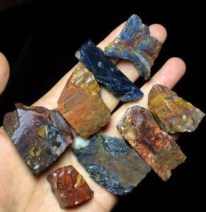 136g Rare natural raw pietersite stone crystal rough healing stone Namibia C252