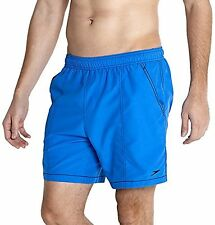 Mens Speedo Swim Shorts Blue  Size XXL 38-40 inch Waist Quick Dry New £12.99
