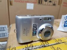 Nikon COOLPIX L4 4.0 MP Digital Camera - Silver - for parts