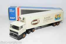 LION CAR LION TOYS DAF 2800 TRUCK WIT TRAILER AVIKO AARDAPPEL NEAR MINT BOXED