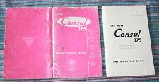 Ford Consul 375 4 Door Saloon Car 1961 Instruction Book Ref RA6340/461 USED ITEM