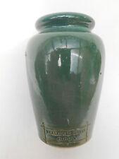 Green Glazed ** SKELLDALE DAIRY RIPON ** Cream Pot