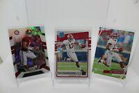 19-20 Panini Chronicles Football TUA TAGOVAILOA Lot Of 3 Base Cards Pack Fresh!