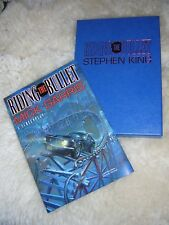 STEPHEN KING-MICK GARRIS  Riding the Bullet  RARE LONELY ROAD BOOK-NEW SLIPCASED
